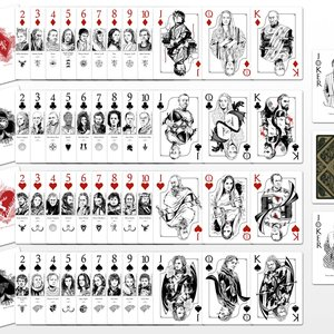 Game of Thrones Playing Cards Deck picture