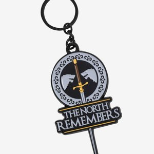 Game Of Thrones The North Remembers Enamel Key Chain picture