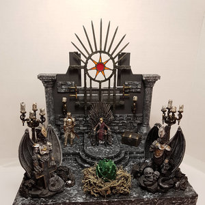 Game of Thrones - Throne Room Diorama picture