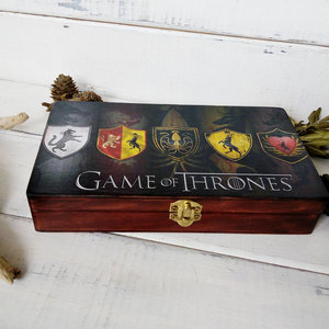 Game Of Thrones wooden box picture