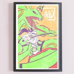 Genji Rayquaza picture