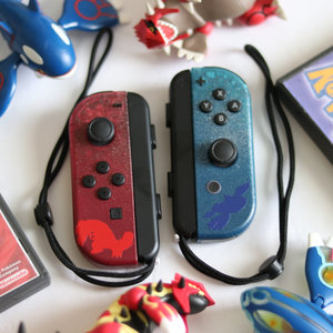 Groudon and Kyogre - Custom Nintendo Switch Joy-cons picture