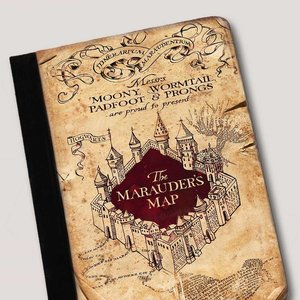 The Marauders Map iPad case picture