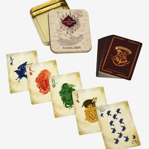Harry Potter Marauder's Map Playing Cards Tin picture