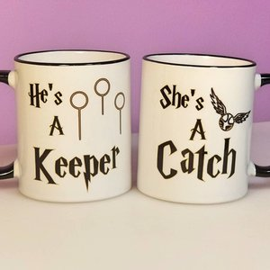 Harry Potter mug set for couples picture