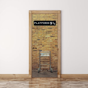 Harry Potter's Platform 9 3/4 Door Mural picture