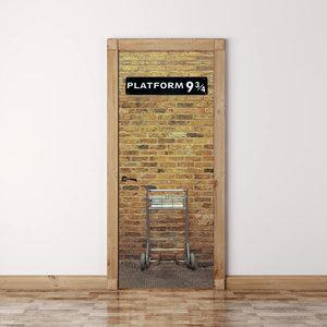 Harry Potter's Platform 9 3/4 Door Mural picture