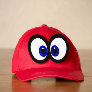 Hat Eyes Pin inspired by Super Mario's Cappy picture