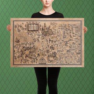 Hogwarts Map - Canvas Art Piece picture