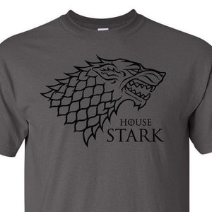 House Stark Direwolf shirt picture