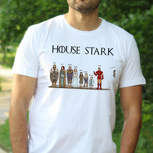 House Stark t-shirt picture