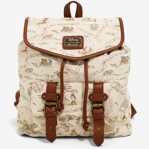 Hundred Acre Wood Map Backpack picture