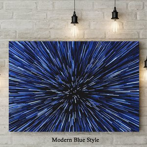 Hyperspace Jump - Canvas Art Piece picture