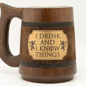 """I drink and I know things"" - Game of Thrones Mug picture"