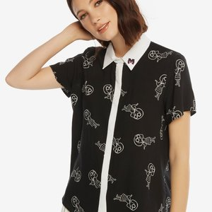 Incredibles 2 Edna Mode Fashion Blouse picture