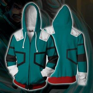 Izuku Midoriya zip up hoodie picture