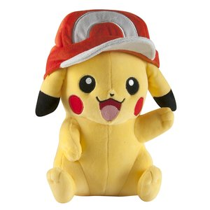 Large Pikachu plush with Ash's Hat picture