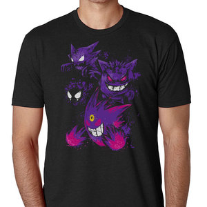 Lavender Town Ghost Pokemon T-Shirt picture