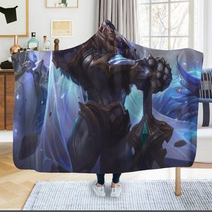 League of legends Garen Hooded Blanket picture