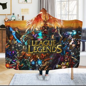 League of legends Hooded Blanket picture
