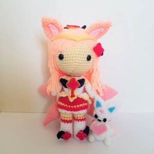 League of Legends Star Guardian Ahri Amigurumi picture