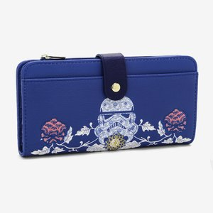 Loungefly Star Wars Floral Stormtrooper Wallet picture