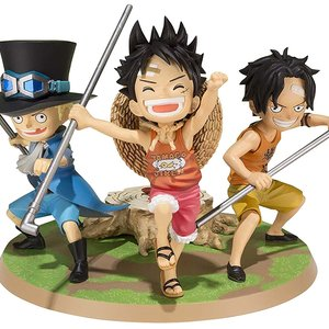 Luffy & Ace & Sabo action figure picture