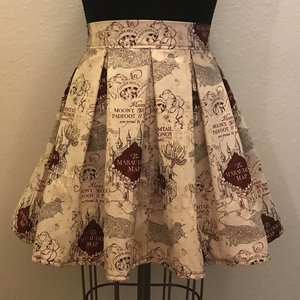 Marauder's Map High Waisted Skirt picture