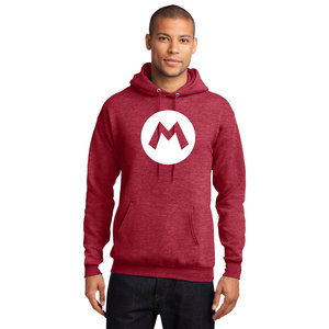 Mario Logo Pullover Hooded Sweatshirt picture