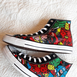 Marvel characters sneakers picture