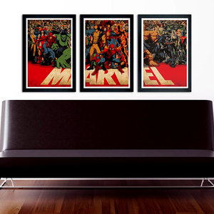MARVEL Poster Set of 3 picture