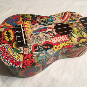Marvel ukulele picture