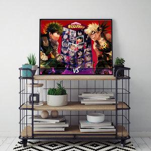 Midoriya Vs Bakugo Poster picture