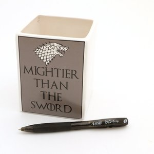Mightier than the Sword - GoT pencil cup picture