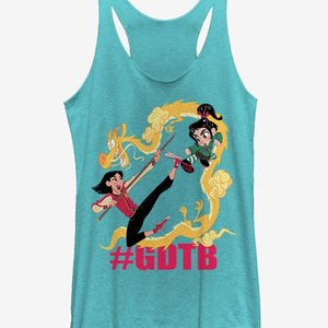 Mulan and Venellope GDTB Womens Tank picture