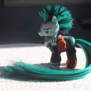 My little pony custom Deku from My Hero Academia picture