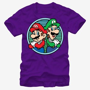 Nintendo Super Mario Bros. Back to Back T-Shirt picture