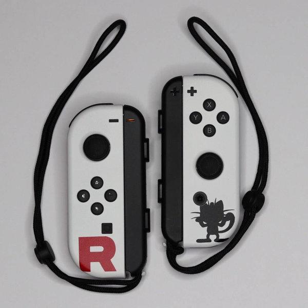 97b872f7a24cca Team Rocket - Nintendo Switch Custom Joy-Con.  150.00 at Etsy