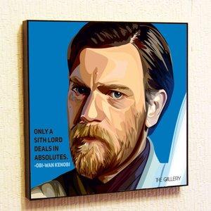 Obi-Wan Kenobi Framed Poster picture
