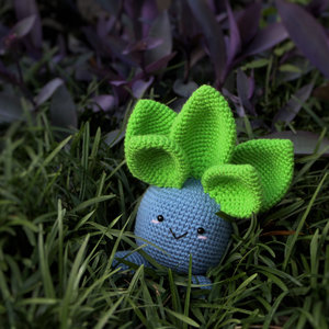 Oddish, adorable Amigurumi Pokemon Plush picture