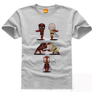 One Deadpool Man t-shirt picture