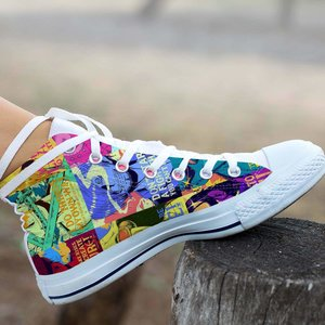 One piece converse sneaker picture