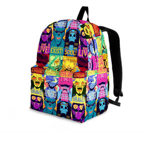 One piece Posters backpack picture