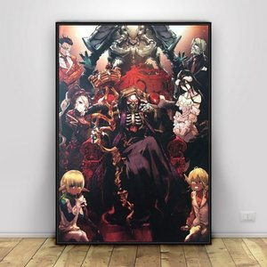 Overlord poster with the floor guardians picture