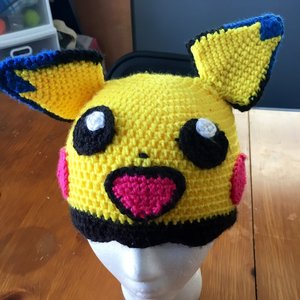 Pichu Crochet Hat picture