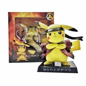 Pikachu dressed as Naruto - Pokemon statue picture