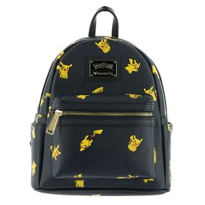 Pikachu Faux Leather Mini Backpack picture