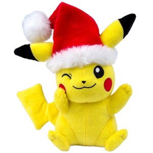 Pikachu with Santa Hat Plush picture