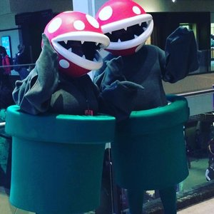 Piranha Plant full costume cosplay picture