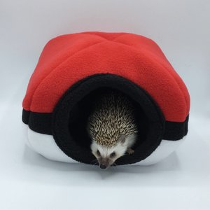 Pokeball Hide for Hedgehogs and other small animals picture